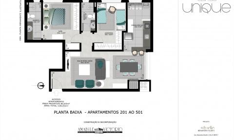 Apartamento 201 a 501