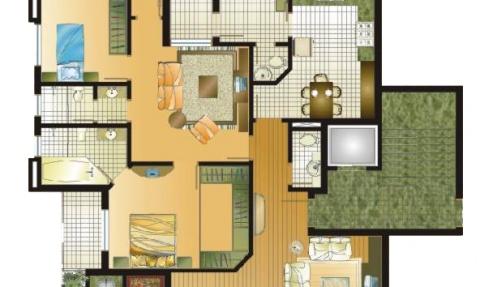 Apartamentos 201 a 401