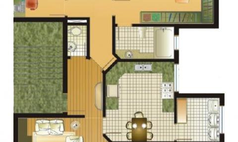 Apartamentos 202 a 402